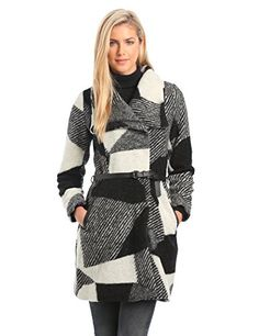 Desigual Women's Woman Long Sleeves Sidney Coat, Grey, 42 Desigual http://smile.amazon.com/dp/B00IVISPPK/ref=cm_sw_r_pi_dp_v33uwb15ERDCE