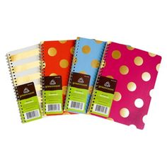 """love these for lists, lists and more lists! :)  Target 