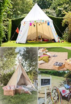 tents for young guests