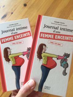Livre grossesse : le journal de bord d'une femme enceinte