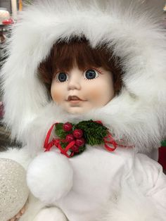 Christmas Doll from Thrift Town