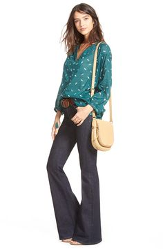 Madewell Blouse & Jeans