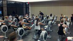 Warm Up Women's Rowing, Rowing Team, Bike, Gym, Bicycle, Bicycles, Excercise, Gymnastics Room, Gym Room