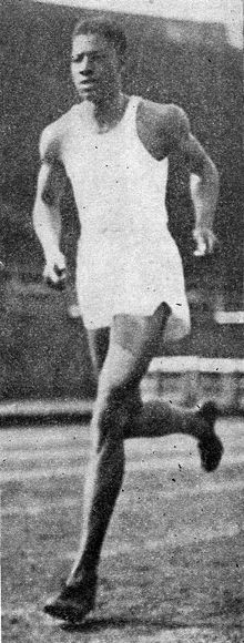 John Woodruff | Learn and talk about John Woodruff, African-American track and field ... OS guld 800 meter 1936 Berlin.