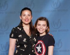 My photo with Hayley Atwell at  Wizard World Philly PA 2015