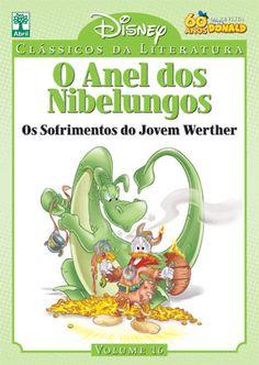 https://flic.kr/p/nGSXWp | Coleção Clássicos da Literatura Disney - O Anel dos Nibelungos - Editora Abril - Tradução Julio de Andrade Filho