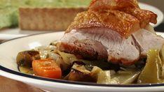Adrian Richardson Pot roasted pork shoulder with apple and cabbage.