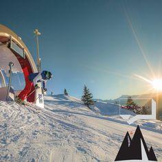 #Skimovie: Auf solchen Strecken werden Fahrer vollautomatisch gefilmt und können dann ihr geschnittenes #Video abrufen. #potd #photooftheday #mountaintalk #skiline #Riesenslalom #bettmeralp #aletscharena ©AletschArena - Pfammatter