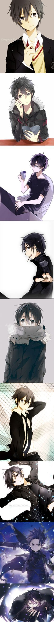 Kirito from SAO #Anime