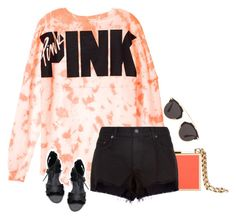 """""""Pink VS style"""" by pineapplesandpomegranates ❤ liked on Polyvore featuring Lanvin, rag & bone and Christian Dior"""