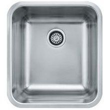 Franke Gdx11028 Grande Single Basin Undermount Stainless Steel Pleasing Stainless Kitchen Sinks Design Inspiration
