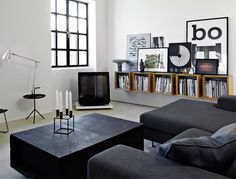 TheDesignerPad - SHARP ANDBEAUTIFUL home of Morten Bo Jensen, chief designer at Vipp.