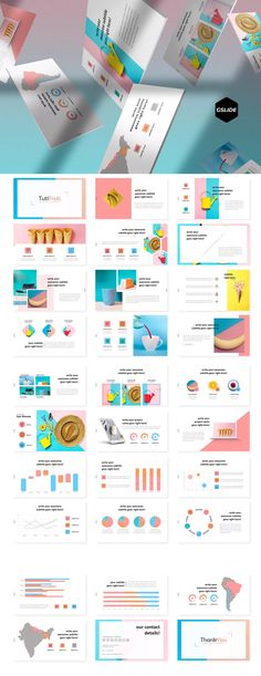 Free PowerPoint templates collection no. Ppt Design, Ppt Slide Design, Powerpoint Design Templates, Creative Powerpoint, Keynote Template, Brochure Design, Graph Design, Flyer Template, Presentation Layout