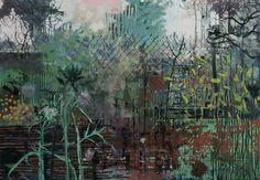 "Saatchi Art Artist Frances Ryan; Painting, ""Enclosure I - SOLD"" #art"