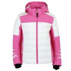 Bogner Demi D Girls Ski Jacket in Pink Childrens Ski Wear, Ski Wear Brands, Girls Ski Jacket, Ski Girl, Skiing, Hooded Jacket, Jackets, Design, Fashion