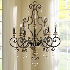 Quoizel Marquette Two Tier Chandelier