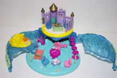 Vintage Bluebird Polly Pocket 1996 Disney The Little Mermaid Compact
