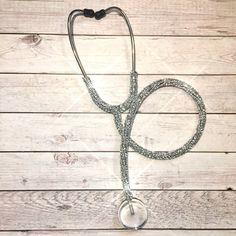Bling prestige stethoscope- bling littmann stethoscope- diamond blue stethoscope- crystal stethoscope- med student gift- nurse gift-