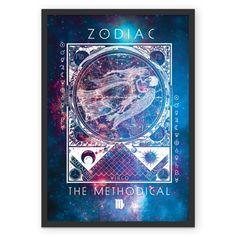 VIRGEM   THE METHODICAL  #posters #astrology #astrologia #zodiac #zodíaco #art #signos #decor #decoração #quadros #virgem #virgo
