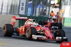 What a race! #Seb5 claims P2 using our OZ Wheels at the Europe Grand Prix 2016 in Baku. #EuropeGP #redseason #F1 #Formula1