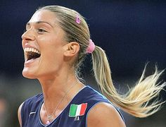 Francesca Piccinini - Italian volleyball team player superstar  #Volley People