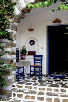 GREECE CHANNEL | Charming Paros island (Greece) porch Love