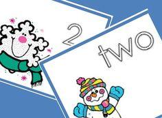 FREE Snowman Number Match