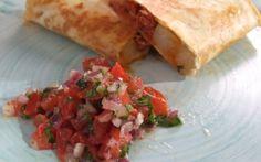 Chorizo & Spud Quesadillas in 10 mins by Thomasina Miers   Quesadillas Professional recipe   Foodnetwork.co.uk