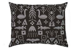 Image of Maailman synty interior pillow cover large |<br /> Maailman synty -tyynynpäällinen, iso