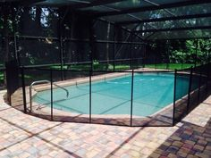 Screen Enclosure With Pool Fence - Baby Barrier of Central Florida