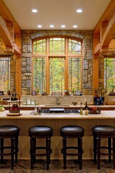 Pictures Of Rustic Kitchens 40 rustic kitchen designs to bring country life | rustic kitchen