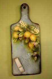 Resultado de imagen para pintura decorativa en madera