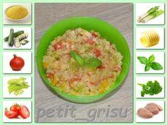 Zeleninový kuskus s kuřetem (měli jsme společný oběd) (8m) Guacamole, Risotto, Potato Salad, Potatoes, Yummy Food, Baking, Ethnic Recipes, Delicious Food, Potato