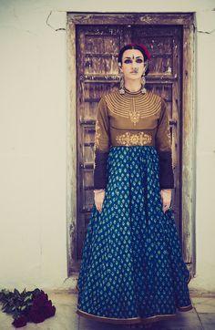 Model- Collena Shakti, https://www.facebook.com/pages/Zarah/1578754045707532
