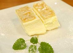 Cremeschnitten Swiss Recipes, Sweet Life, Puddings, Food Inspiration, Cake Recipes, Feta, Deserts, Food And Drink, Cooking Recipes