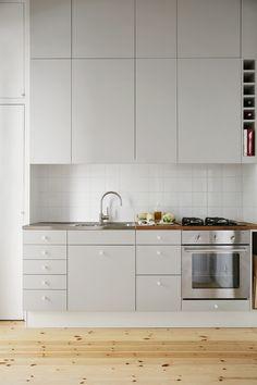 Kitchen interior design scandinavian Långholmsgatan 13 A, 2 tr ög | Fantastic Frank