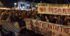"""osCurve Brasil : """"Não"""" vence e Grécia rejeita proposta de credores"""