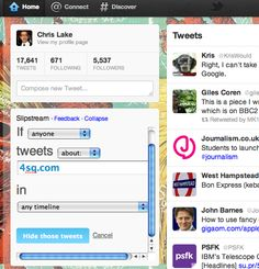 Five useful new tools for Twitter's power users