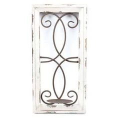 Wood Metal Wall Candle Holder Candle Sconces Hobby Lobby
