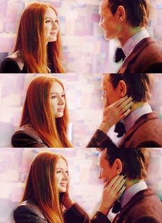 """'Raggedy Man, Goodnight.' WAS THIS NECESSARY? <---In a way, I think it was, actually. He's still grieving over the loss of the Ponds. Even after all this time, he's still grieving. He didn't even get to say a proper goodbye. And neither did we. So, through this heart-shattering, soul-destroying moment, we all got to say our last goodbye to Amy."""