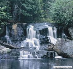Waterfall in Algonquin Park Ontario~