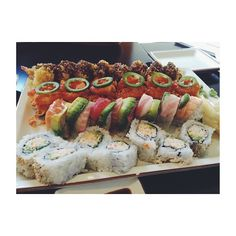 Delicious Benihana sushi!