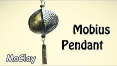 DIY Mobius earrings - Polymer clay tutorial - YouTube
