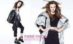 TOP! TOP! TOP! Metalik nie schodzi ze szczytu najgorętszych trendów sezonu. Nosimy go nie tylko na imprezy, ale i na co dzień! Zobacz nasz najnowszy lookbook i wybierz coś dla siebie! www.saltandpepper.pl/lookbooks/metalmania/