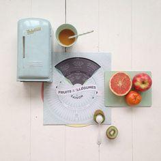 Le saisonnier fruits/légumes par Papier Tigre