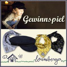 Gewinne eine original Lönneberga-Cordkappe und drei freche Halstücher vom Berliner Kultlabel!