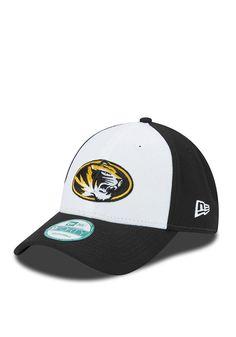 86c2b72468b New Era Missouri Tigers Mens Black The League White Front Adjustable Hat -  5901510
