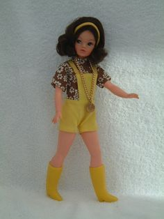 1971 Hot Pants - from boxed doll version Sindy. #sindy