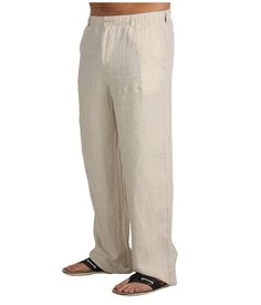 Big & tall, Linen pants and Beaches on Pinterest