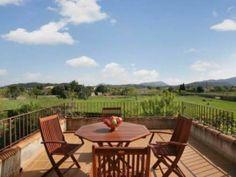 Magníficas las vistas desde esta terracita de un chalet en #Pollensa